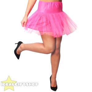 52fab56e9c Image is loading WOMENS-HOT-PINK-NETTED-TUTU-UNDERSKIRT-FANCY-DRESS-