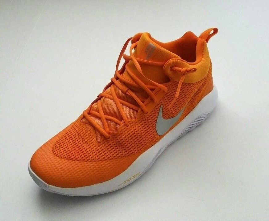 online retailer 46254 3300f Nike Men s Zoom Rev TB 902589-801 Basketball shoes shoes shoes Amber orange  Size 18