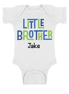Big*Middle*Little Brother Sibling ~ Personalized ~ Infant Toddler t Shirt