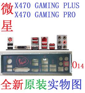 Details about Original MSI I/O IO Shield X470 GAMING PRO, X470 GAMING PLUS  #G6487 XH
