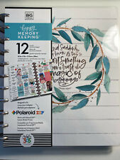 BIG Happy Planner DELUXE 2021 MEMORY Keeping RUSTIC Vertical Farmhouse UNDATED