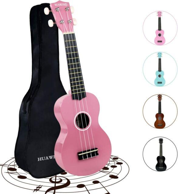 Anuenue Pink Soprano Ukulele With Bag For Sale Online Ebay