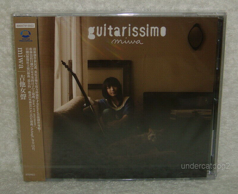Miwa Guitarissimo Taiwan Cd Normal Edition For Sale Online Ebay