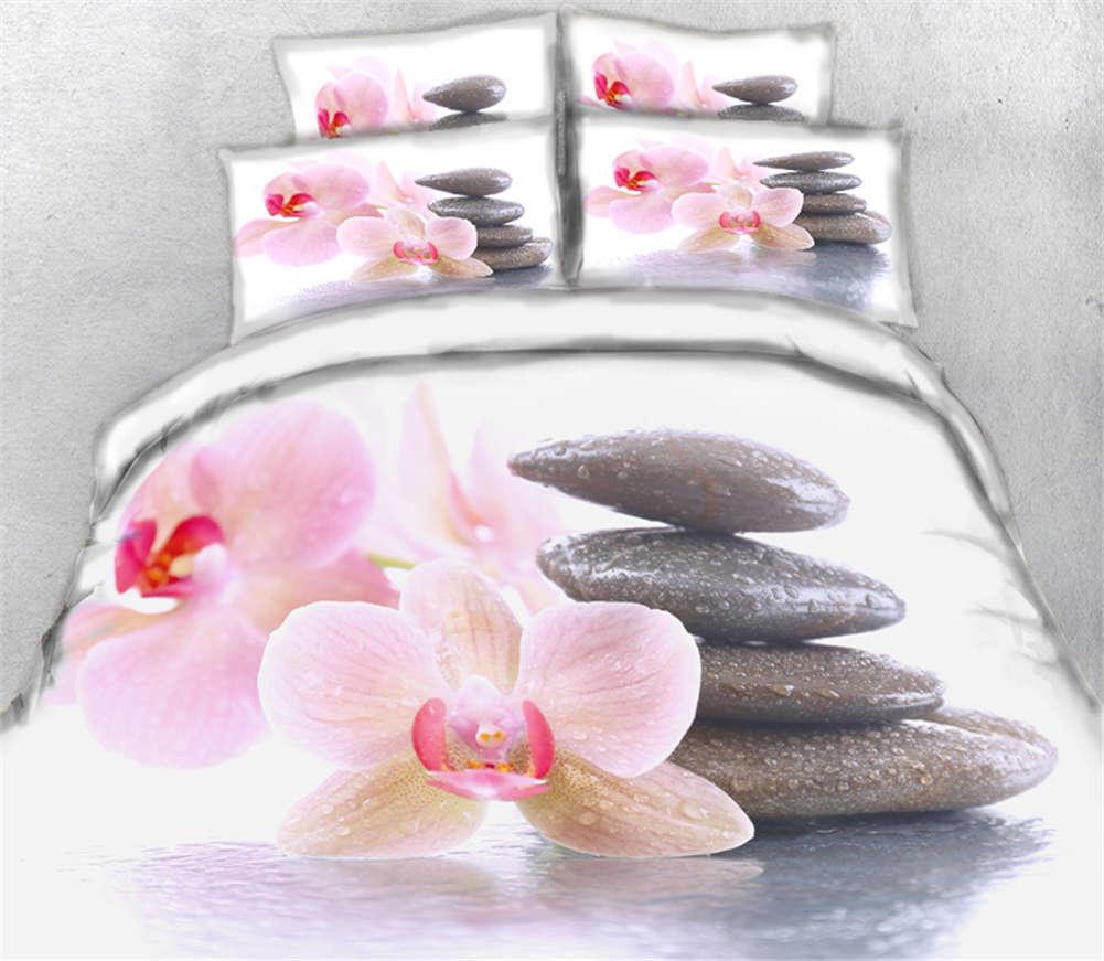 Mushroom World 3D Printing Duvet Quilt Doona Covers Pillow Case Bedding Sets