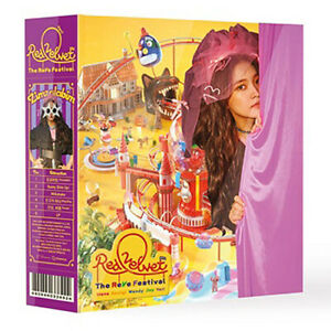 RED-VELVET-THE-REVE-FESTIVAL-Album-DAY-1-YERI-Ver-CD-Magic-Kit-Book-Card-SEALED