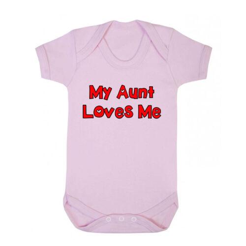 My Aunt Loves Me Cotton Baby Bodysuit One Piece