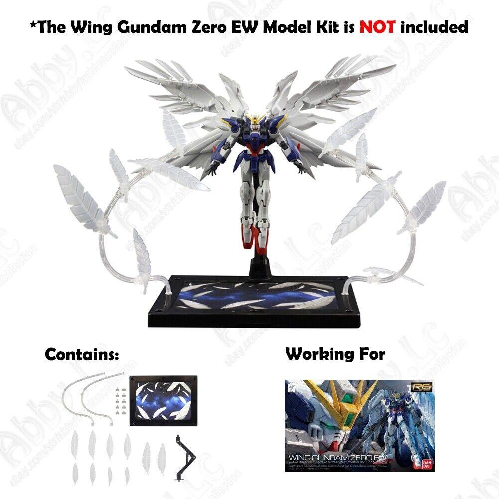 Conversion For Bandai RG 1//144 Detail Up Destiny Gundam wing 00 Effect