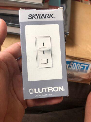 Lutron Skylark SLV-600P-IV Ivory Pole Wall Dimmer Light Switch 450w Low-Voltage