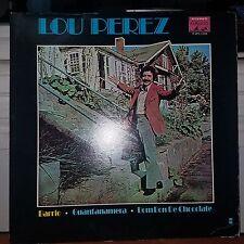Lou Perez -Lp Barrio On Parnaso-LPS-1104-1972-Barely Played LP-Top Copy!