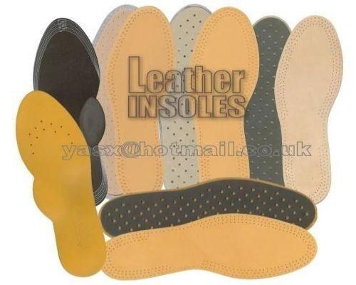 Da Uomo in Pelle Solette / Scarpe / Stivali / dolore sollievo / libera Odori / 100% Genuine Leather
