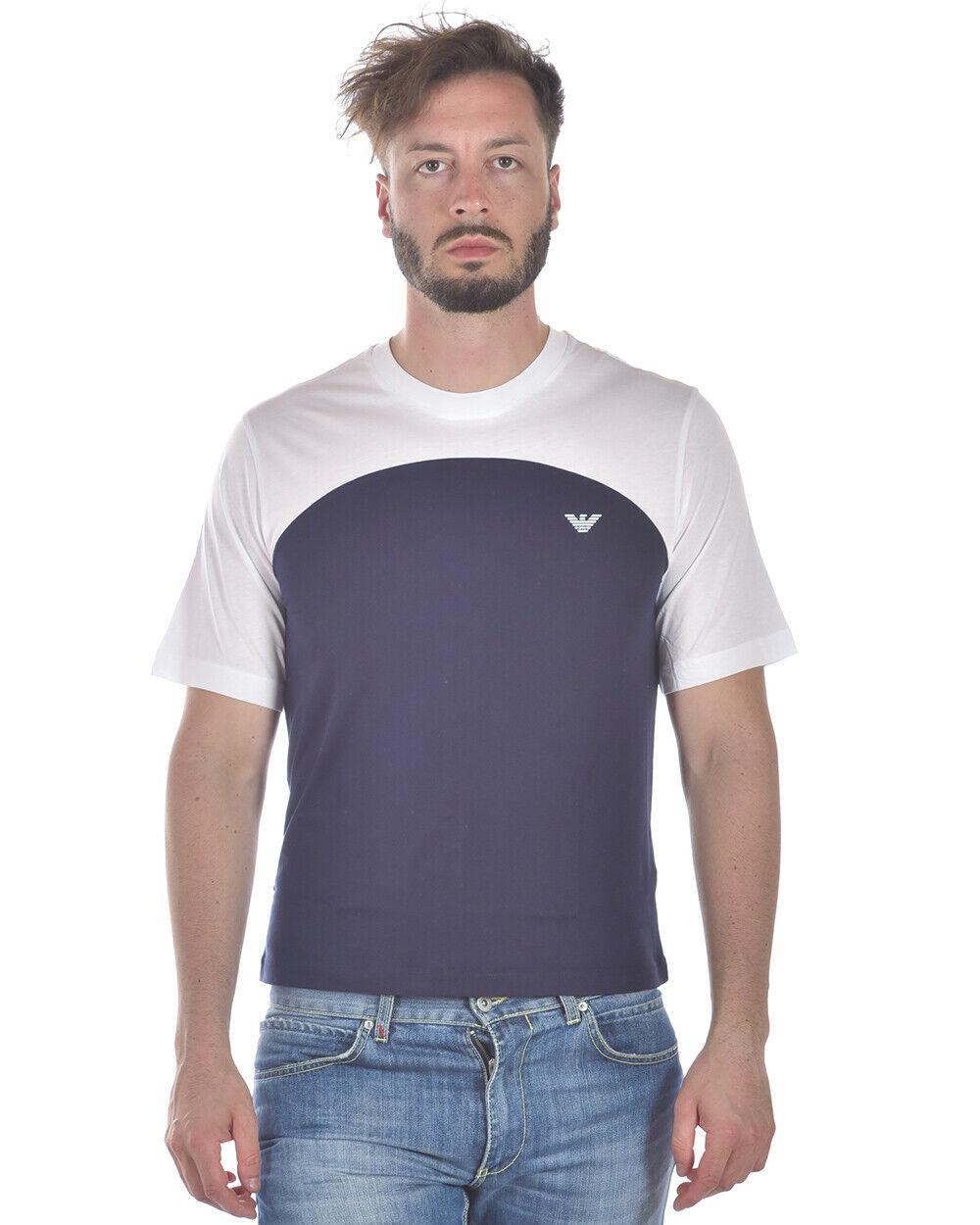 Emporio Armani T hemd schweißhemd Man Blau 3Z1T731JPZZ 922 Sz. XXL PUT OFFER