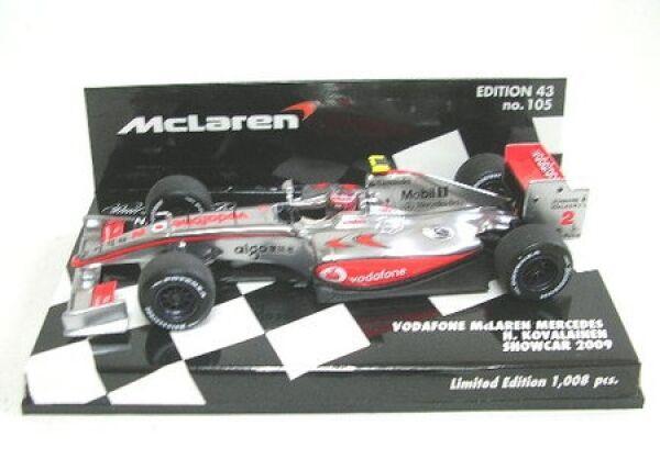 McLaren Mercedes Nº 2 H. Kovalainen Kovalainen Kovalainen formule 1 showcar 2009 b04628