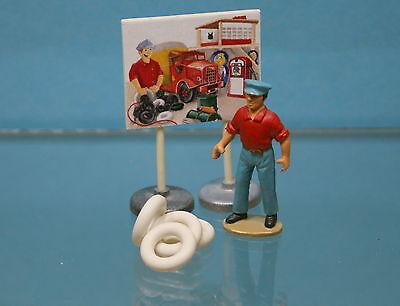 DO2 Lot de 4 pneus blancs lisses 15//8 pour Dinky Toys SIMCA CHAMBORD 24K