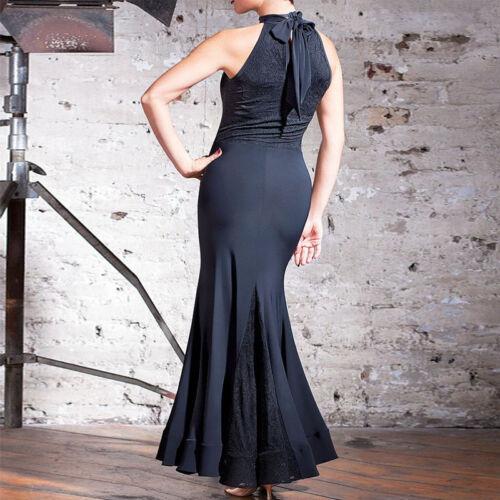Latin Ballroom Competition Dance Dress Modern Waltz Tango Standard Dress Y024