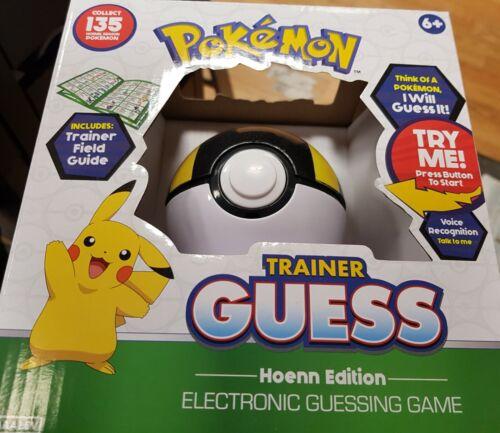 Pokemon Trainer Guess-Hoenn Edition