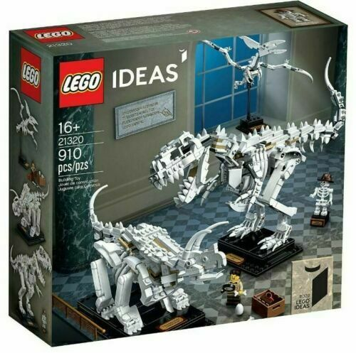 New Lego Ideas Dinosaur Fossils 21320 Exclusive Set Officially Licensed Sealed