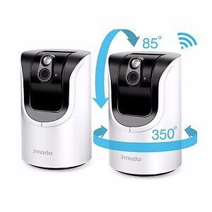 Zmodo-720P-HD-Pan-Tilt-Wireless-IP-Network-IR-Home-Surveillance-Camera-2-Pack