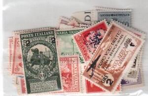 FRANCOBOLLI-REGNO-D-039-ITALIA-50-DIFFERENTI