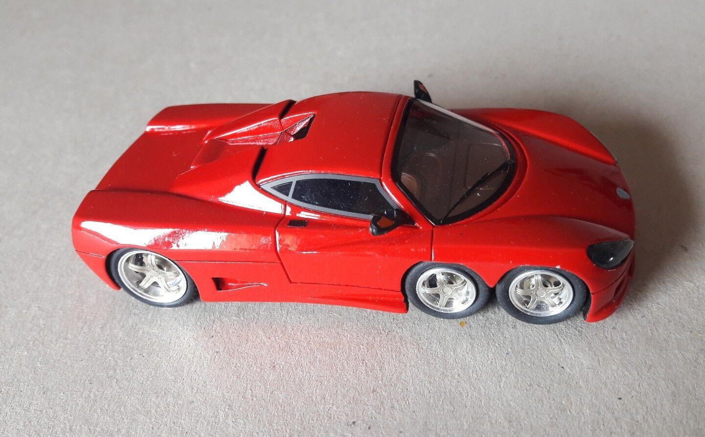 Tecnomodel 1 43 Covini C6W 2008 no Ferrari BbrBosica resin handmade