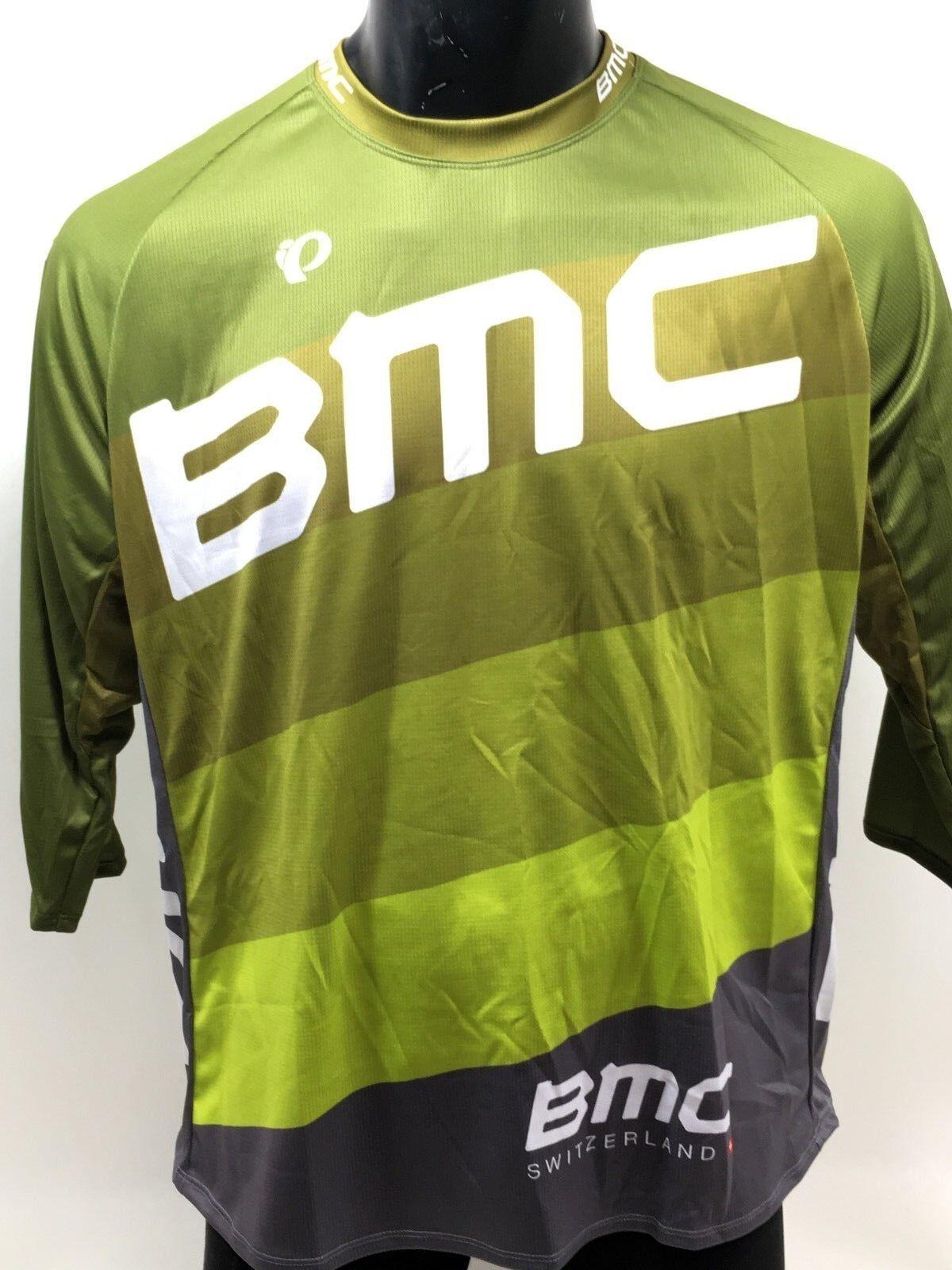Pearl Izumi BMC Trailcrew Mountain Bike Jersey Baggy Lime -  XXL - 215441  online