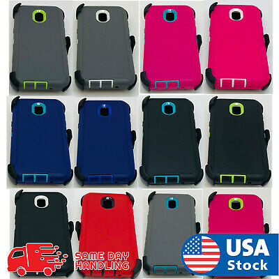 sale retailer ec9bf 161ae For Samsung Galaxy J7 2018 / J7 V 2nd G Case Cover (Clip Fits Otterbox  Defender) | eBay