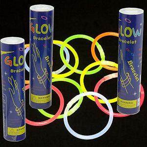 300 8 Quot Glow Sticks Bracelet Assorted Color Free