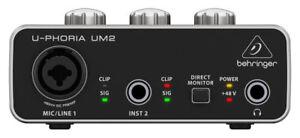 Behringer-U-Phoria-UM2-Audio-Interface