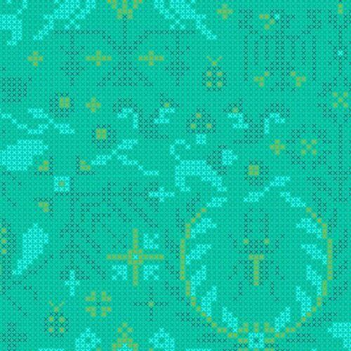 Alison Vidrio-sunprints 20-Menagerie-Sirena