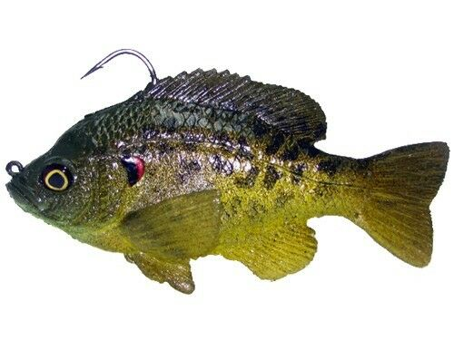 Mattlures Generation 2 Ultimate Bluegill Swimbait Select Color//Tail Design