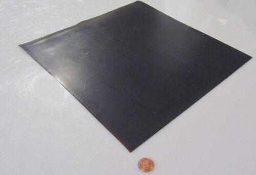 """1//32/"""" .031/"""" x 12/"""" x 12/"""" Black Teflon PTFE Sheet,"""