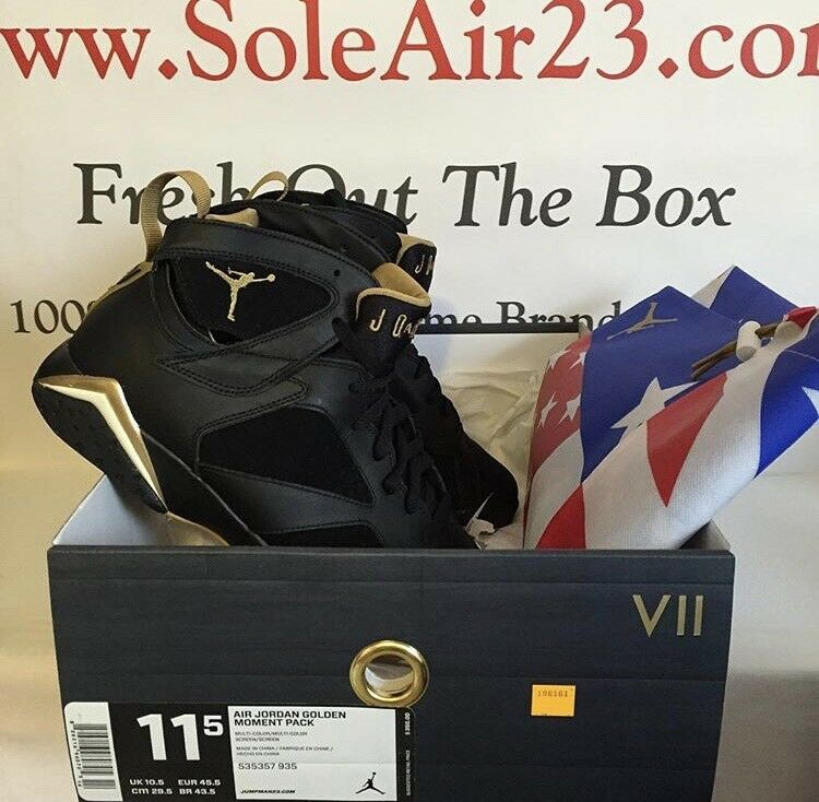 Nike Air Jordan 7 VII Retro GMP Golden Moments Package 2018 Mens Comfortable Casual wild