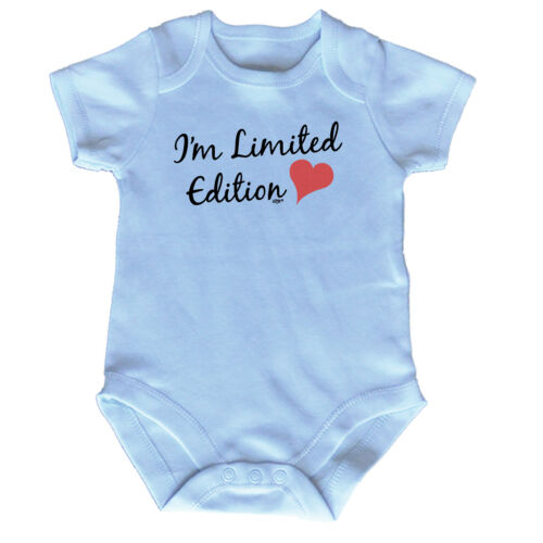 Funny Baby Infants Babygrow Romper Jumpsuit Im Limited Edition Heart