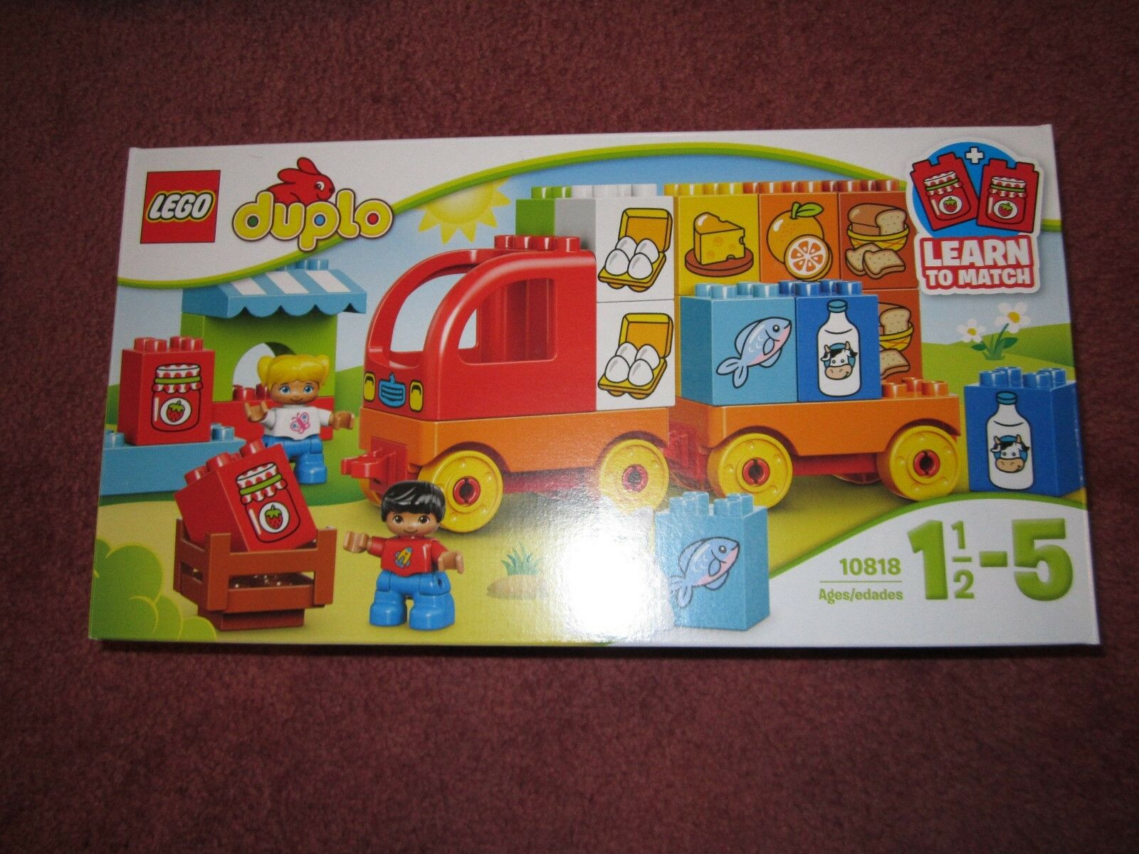 LEGO DUPLO MY MY MY FIRST TRUCK 10818 - SEE PHOTOS - NEW BOXED SEALED de8978