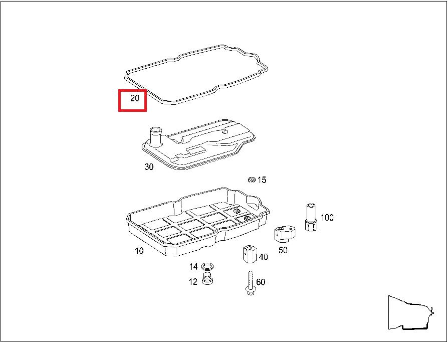 4l60e Oil Pan