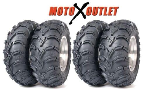 """ITP Mudlite 25 /"""" ATV Tires 25x8-12  25x10-11 Set of 4 Mud Lite"""