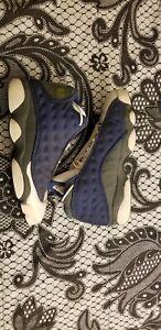 9628b35460d4 2005 Nike Air Jordan XIII 13 Retro Flints (Blue Grey French) sz 12 ...