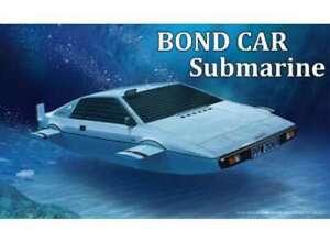 007 BOND LOTUS ESPRIT plastic model submarine car kit 1:24 FUJIMI 091921