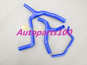 Blue-silicone-radiator-Y-hose-for-KAWASAKI-KXF450-KX450F-2012-2013