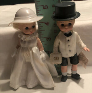 Lot of 6 NIP 2002 McDonald/'s Madame Alexander Dolls Happy Meal Bride Groom w//box