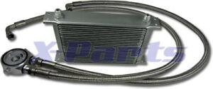 25-FILE-RADIATORE-OLIO-incl-CONNESSIONE-KIT-AUDI-VW-PER-BMW-OPEL-Turbo