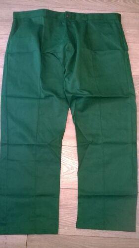 "Vet ambulance etc taille 46/"" NEUF TR295 2 x joblots Pantalon homme vert Work Wear"