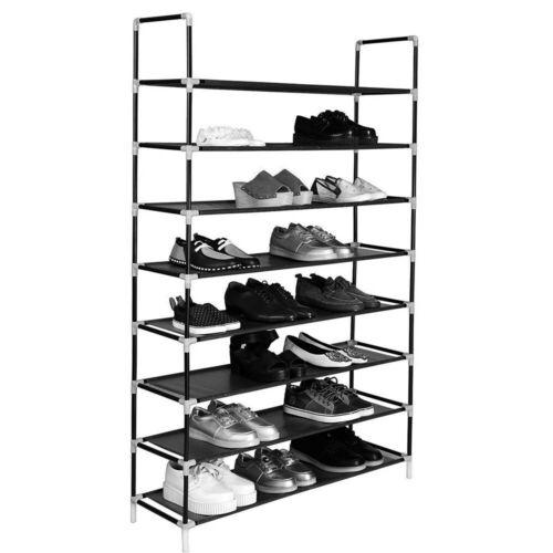 50 Pair 5//8//10 Tier Shoe Rack Storage Organizer Tower Free Standing Space Saving