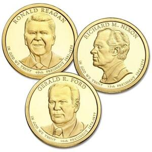 presidential one dollar coin proof set