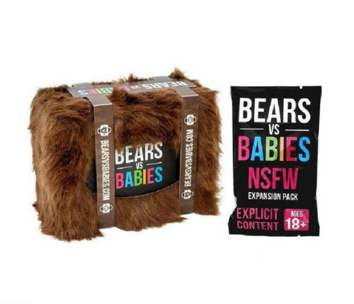 Bears vs Babies Expansion Board Game Cards Playing Cards