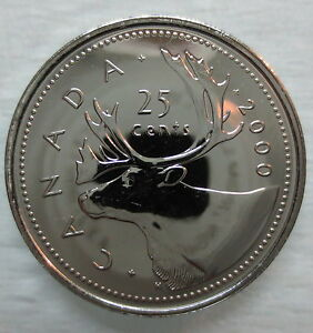 2000-CANADA-25-CENTS-PROOF-LIKE-COIN