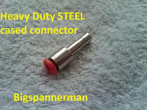 Poste de soudage mig soudure connecteur pour adaptateur de gaz pour tuyau 4 mm par jour à 6mm alésage tuyau