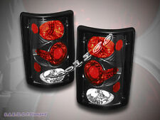 1995-2003 FORD ECONOLINE 2000-2006 FORD EXCURSION TAIL LIGHTS BLACK ALTEZZA