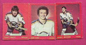 1973-74-OPC-BUFFALO-SABRES-CARD-LOT-INV-C2893