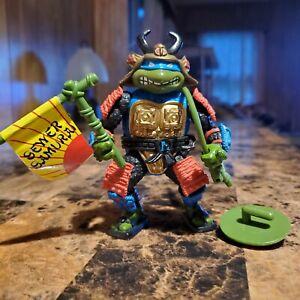 Vintage Teenage Mutant Ninja Turtles Sewer Samurai Leo 1990 Complete
