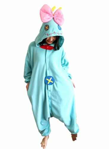 Disney Lilo /& Stitch Scrump Kigurumi Pyjamas Adult Cosplay Sleepwear Jumpsuits